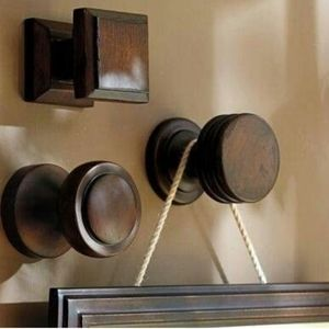 Eco-friendly Wooden Hanging Knobs